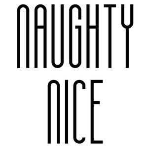 naughty nice ornament words