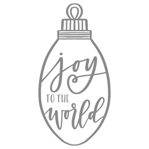 joy to the world bulb