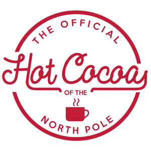 hot cocoa label & tag