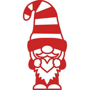 gnome little heart