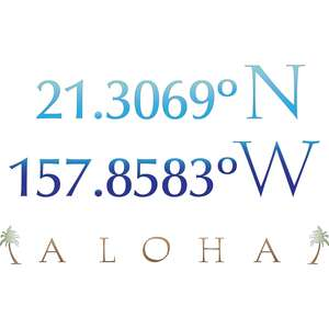 aloha latitude and longitude