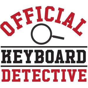 official keyboard detective