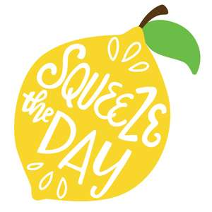 squeeze the day lemon