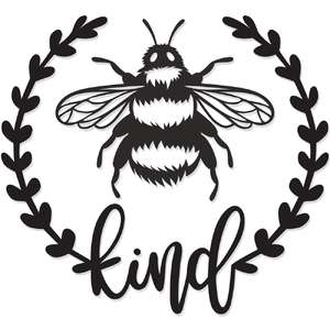 bee kind laurel