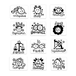 baby star signs stickers