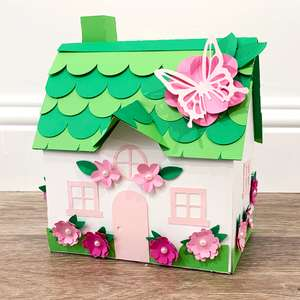 spring floral house