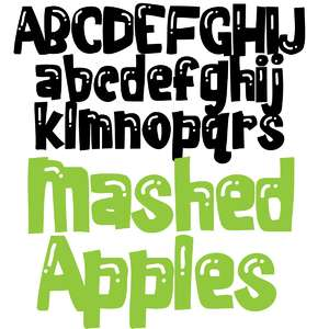 zp mashed apples