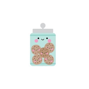 cookie jar - made with love