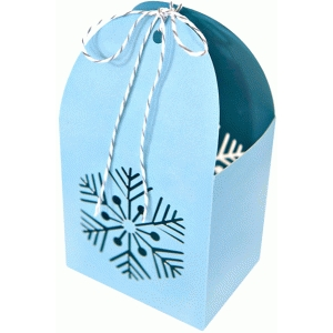 snowflake favor box