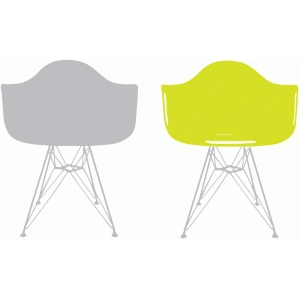 molded plastic chair