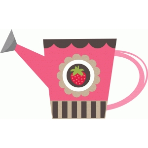 strawberry watering can
