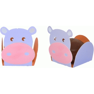 treat holder hippo