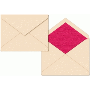 a2 envelope pointed