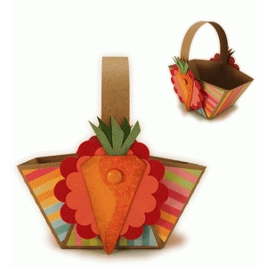 carrots mini treat basket