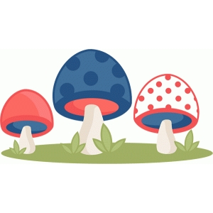 polka dot mushrooms