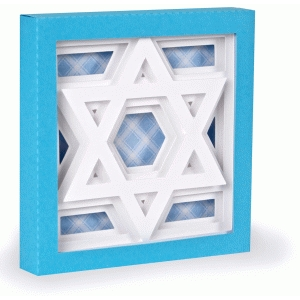 star of david – 3d shadow box series