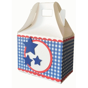 patriotic gable box