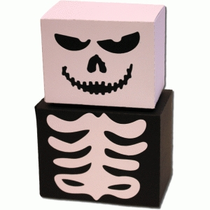3d skeleton boxes