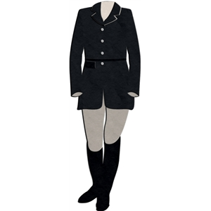 english riding outfit