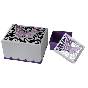 butterfly flourish box
