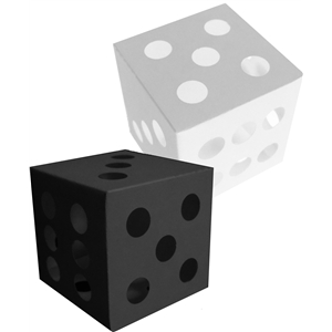 3d dice favor box