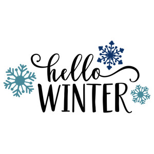 hello winter phrase