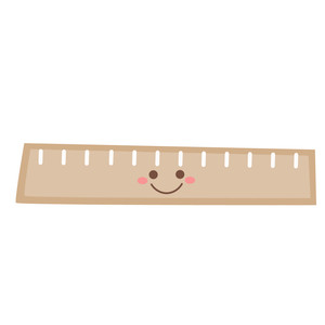 cute school ruler