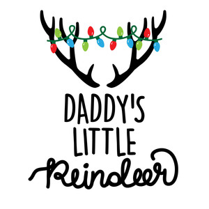 daddy's little reindeer