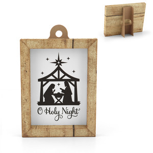 3d frame christmas nativity