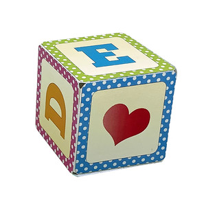 alphabet block box a b c d e