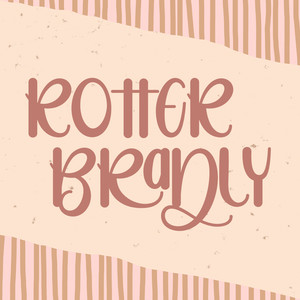 rotter bradly font