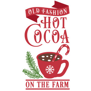 hot cocoa on farm