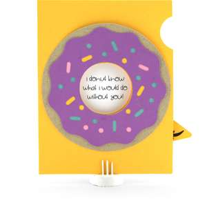 a2 iris shutter card birthday donut