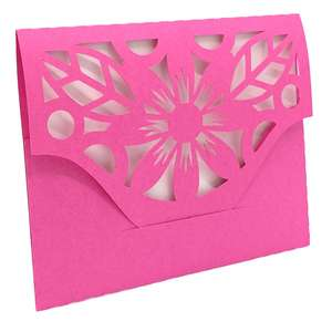flower cover card