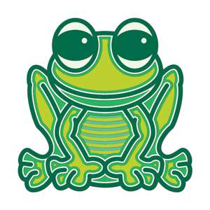 frog kids crafting multi layer mandala