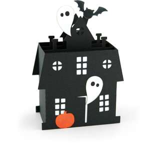 box card haunted house