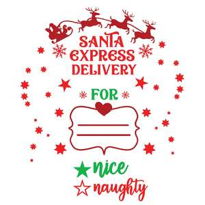 santa sack delivery from santa