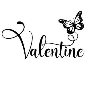 valentine butterfly word