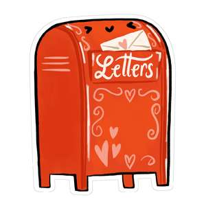 kawaii valentine's mail box