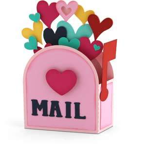 a2 box card mailbox hearts