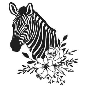 wildflower zebra