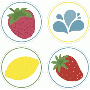 barbecue fruit labels