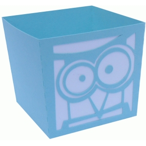 tall owl candy box