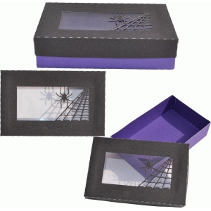 halloween acetate web box