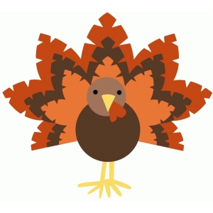 stylized turkey