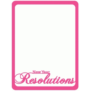 new year resolutions journaling cards
