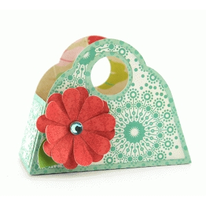 3d purse flower box