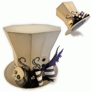 mourner's 3d top hat