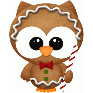 owl gingerbread man pnc