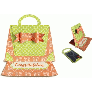 easel gift card holder (purse)